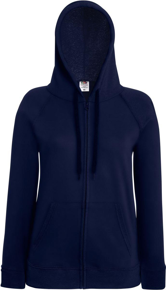 Fruit Of The Loom Ladies Lady fit Hooded Sweatshirt Jacket
