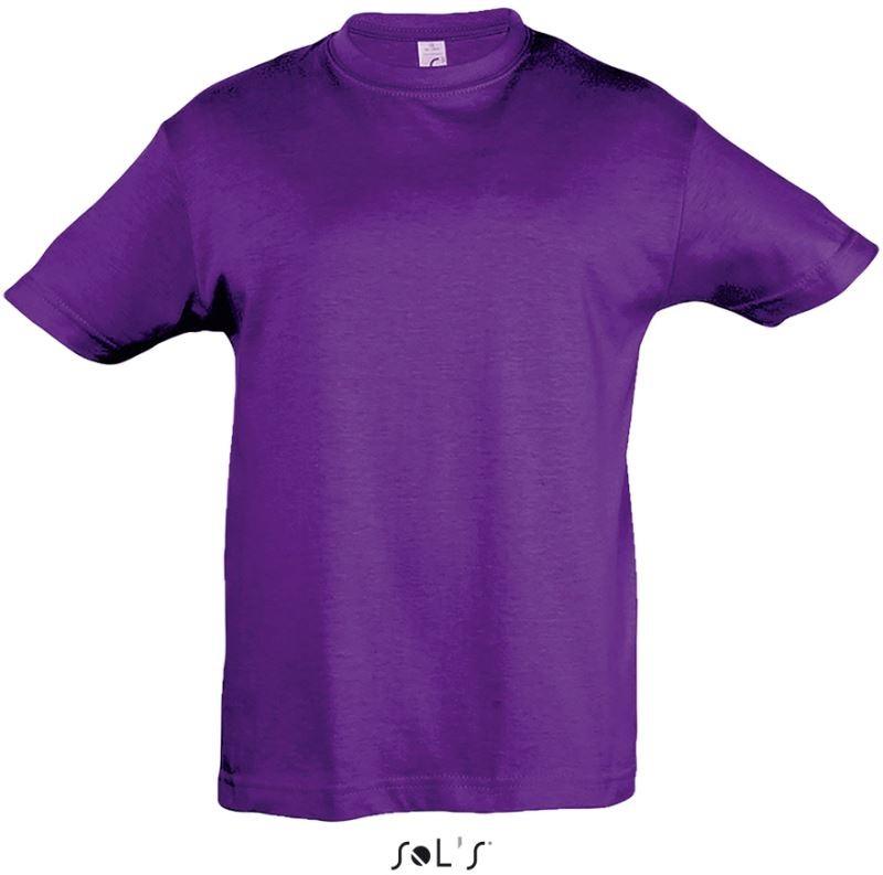 Kids Children Unisex Russel Classic Crew Neck T-Shirt-15 tshirt Colours