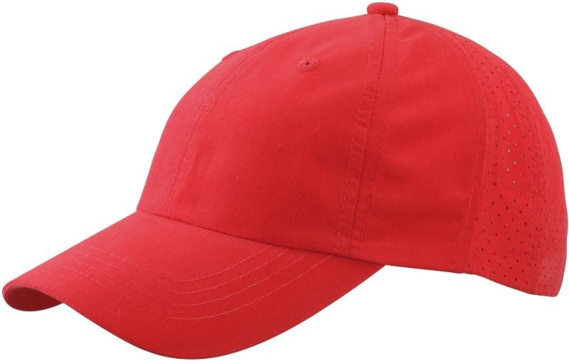 Laser Cut Cap//Myrtle Beach MB 6538 red