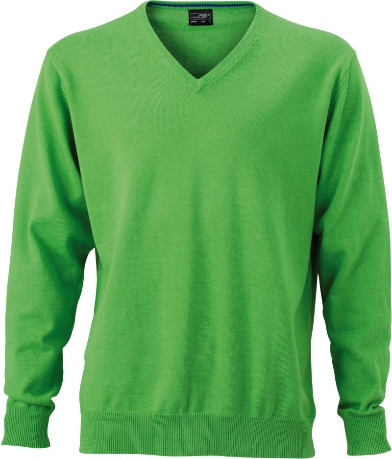 James /& Nicholson JN659 Mens V Neck Pullover Jumper
