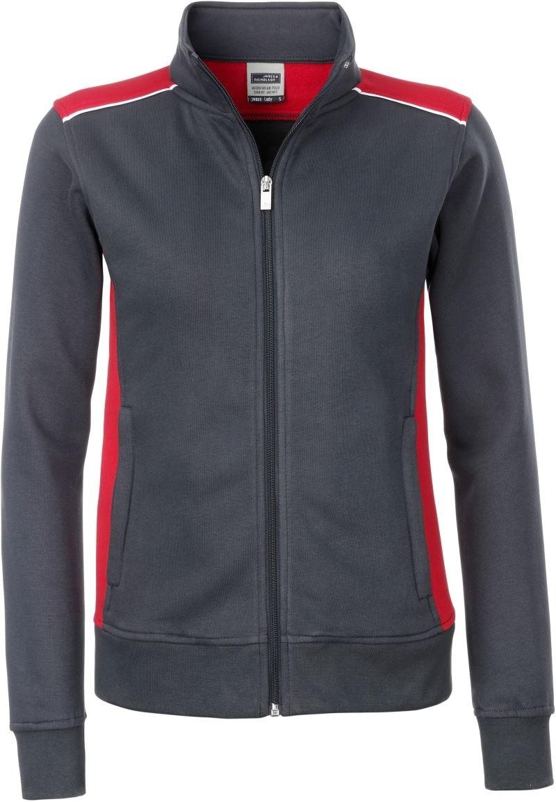James & Nicholson | JN 869 Damen Workwear Sweat Jacke